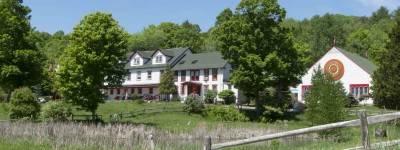 The Main House at Karmê Chöling