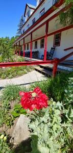 Karme Choling porch
